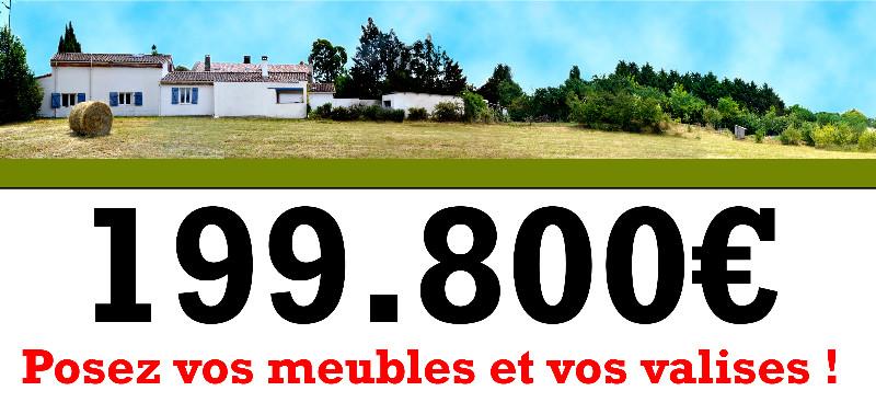 Vente Maison 6 pièces, Honor-de-Cos (82) Maison de village